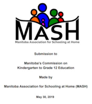 MASH Submission to the Manitoba Commission on K-12 Education